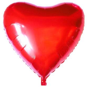Шарик сердце из фольги